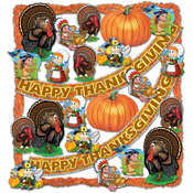 FR Thanksgiving Trimorama - 23 Pcs