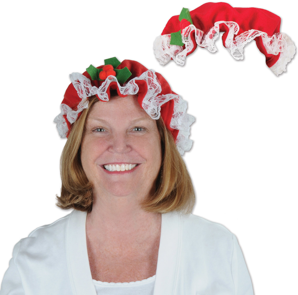 Wholesale mrs claus hat sku dollardays