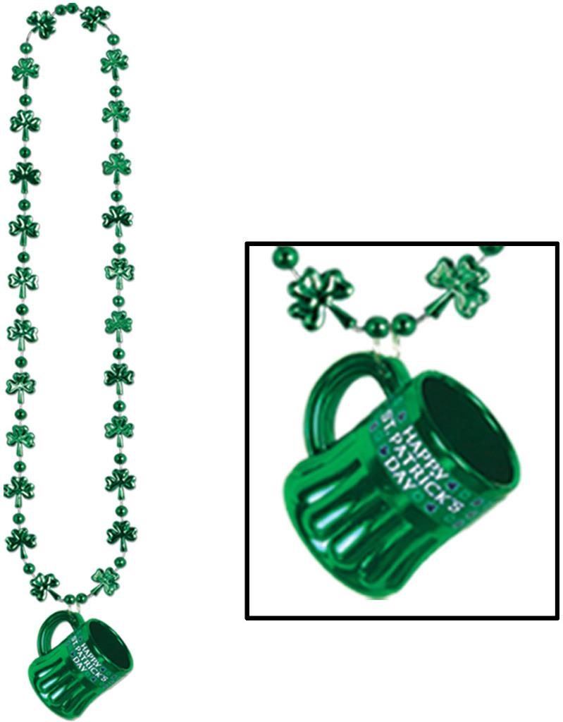 Shamrock BEADS with Happy St Pat's Mug [677693]