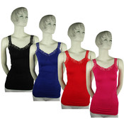 Women's Tank Tops with Lace Wholesale Bulk