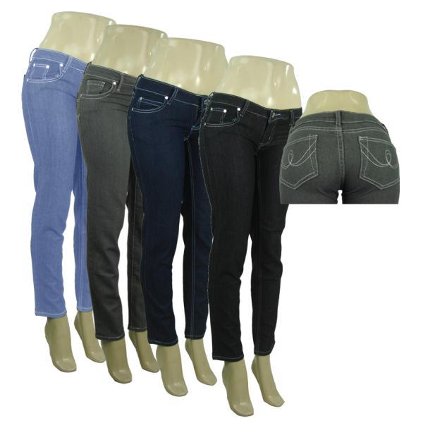 Women's Fashion Skinny JEANS (573262)
