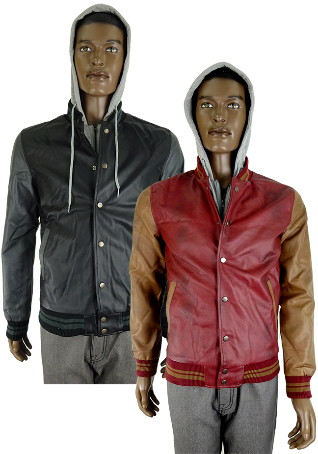 Mens Jacket With Hood - Small - Extra Large (1867085)