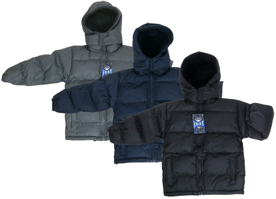 Boy's Hooded Winter Jackets Size 4-7 (2122410)