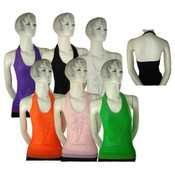 Juniors Seamless Halter Top- Jamaica Design Wholesale Bulk