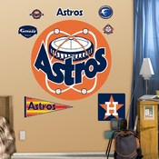 Houston Astros Retro Fathead Wall Graphic