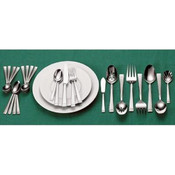 Wallace Leah Frost 80 Piece Flatware Set