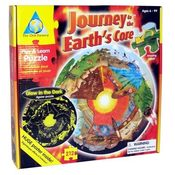 Journey To The Earth's Core Play & Learn Puzzle Wholesale Bulk