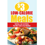 $3 Dollar Low -Calorie Meals Book