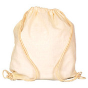 Eco Friendly Canvas Cotton Drawstring Back Pack