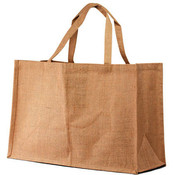 Natural Jute/ Burlap Beach Tote