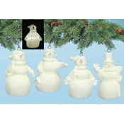 Snowman LED Ornament 4 Styles