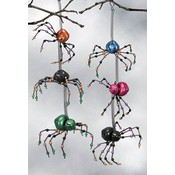 Spider Bell Ornaments 6 Styles Wholesale Bulk
