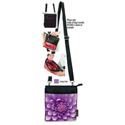 Cross Body Bag Lavender Dahlia