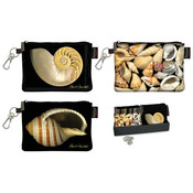 Zip Coin Purse with Display Shell 3 Styles