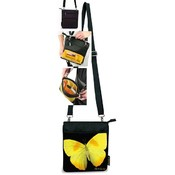 Cross Body Bag Yellow Butterfly