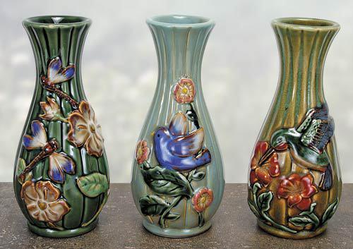 Handmade Ceramic Vases on Etsy - Porcelain, stoneware, raku