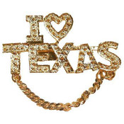 "Boutique Pin ""I Love Texas"""