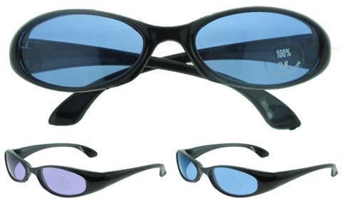 Black SUNGLASSES with Blue Lenses (790631)