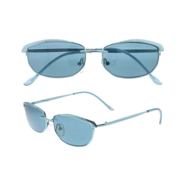 Blue Tinted METAL Frame SUNGLASSES (673514)