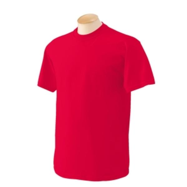 Wholesale Adult Irregular Red T-shirt