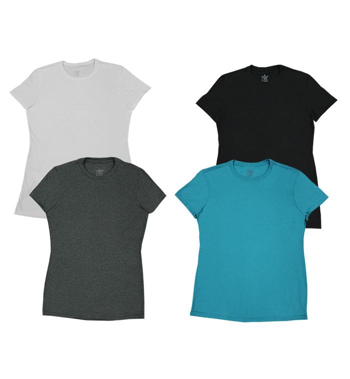 Wholesale Private Label Irregular Ladies Short Sleeve T
