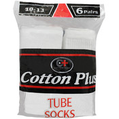 Men&#39;s White Tube Socks