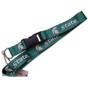 Michigan State Spartans Clip Lanyard