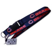 Chicago Bears Clip Lanyard Id Holder
