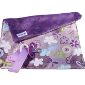 BB Emerald Lavender Fly Away Silver Soft Pacifier  Baby Blanket