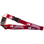 NHL Colorado Avalanche Clip Lanyard Keychain