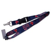 Boston Red Sox Blue Lanyard
