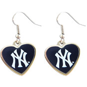 MLB New York Yankees Dangle Logo Earrings
