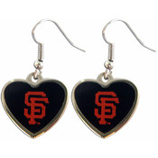 MLB San Francisco Giants Heart Logo Earring Set