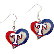 MLB Texas Rangers Logo Earrings