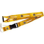 NCAA Vanderbilt Commodores Lanyard Holder- Yellow