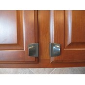 Cup Handle Cabinet Hardware - Oil Bronze 2 pack