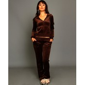 Brown Velour Lounge Wear Set Wholesale Bulk