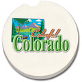 Colorado car coasters