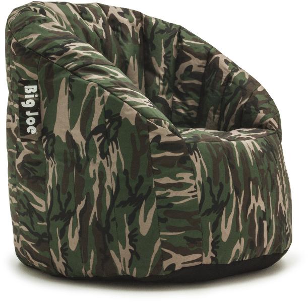 Wholesale Big Joe Lumin Bean Bag Chair SmartMax Woodland SKU 1794726 DollarDays
