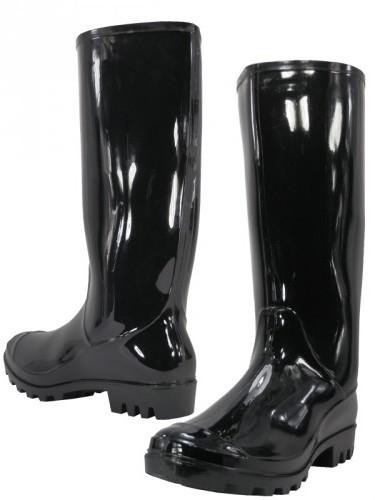 Women's RAIN BOOTS Black (Size 6-11) [1934179]
