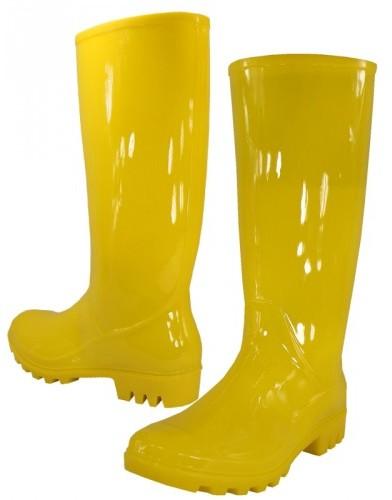 Women's Yellow RAIN BOOTS (Size 5-10) [1934188]