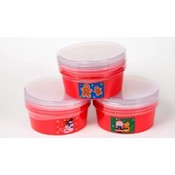 "7.25"" Christmas Container- 4 Pack"