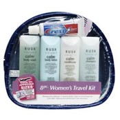 Rusk Professional Hair Care Travel 8 pc Bag