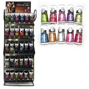 180 Pc Metallic Nail Polish Hot New Styl Free Counter Top Display Rack