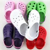 Kids PVC Water Clogs- Assorted Colors + Sizes