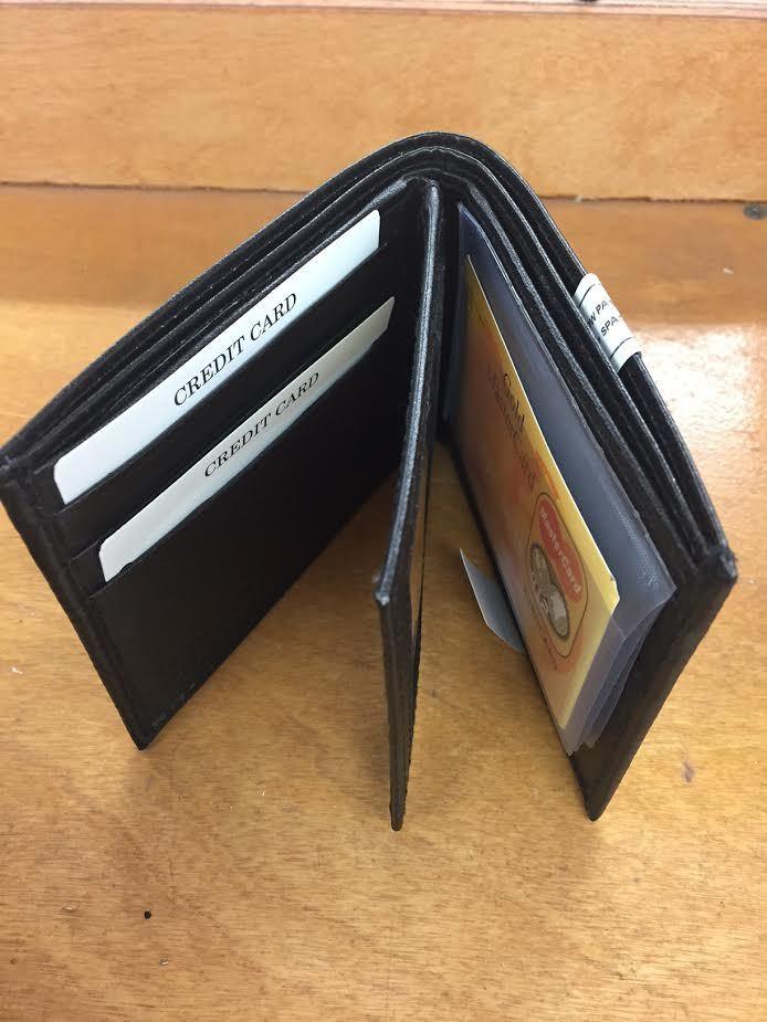 Men's LEATHER Bi-fold Wallet (2272652)
