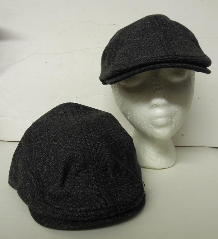 London Fog Men's Grey Newsboy Cap [2130632]