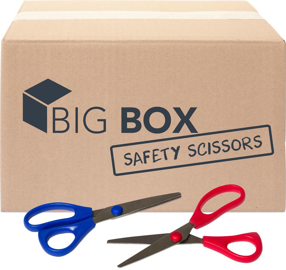 ''Big Box? of 5'''' Safety SCISSORS - 100/case (2131383)''