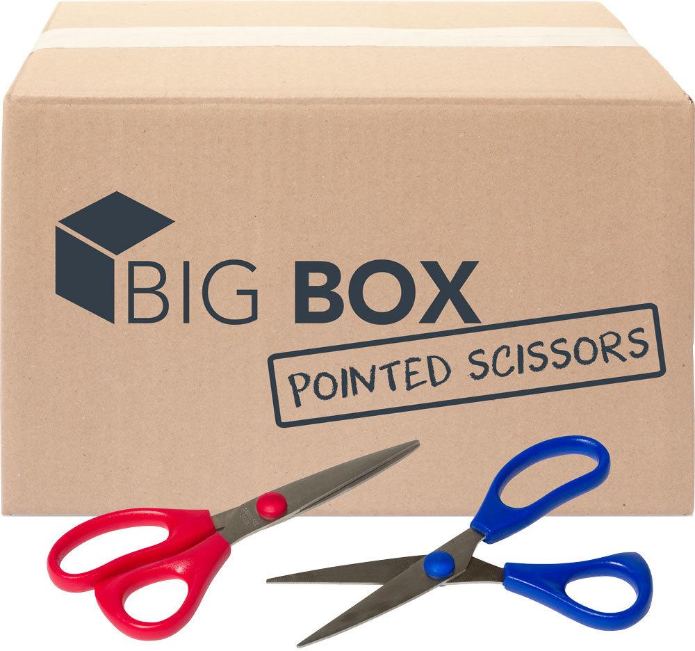 ''Big Box? of 5'''' Pointed-tip SCISSORS - 100/case (2131384)''