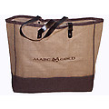 Marc Gold Jute Tote Bag